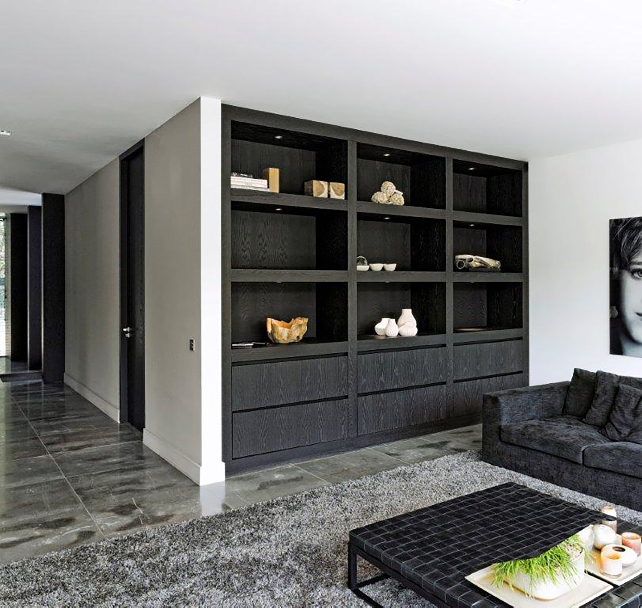 Maatwerk kasten - Eigentijdse boekenkast ...